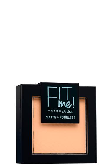 FIT ME MATTE + PORELESS® PUDER